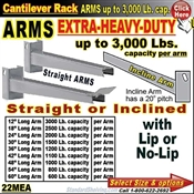 22MEA / ARMS for Cantilever Rack Column
