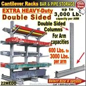 22MEDD / Double Sided Cantilever Rack Column