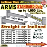 22MSA / ARMS for Cantilever Rack Column