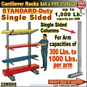 22MSDS / Single Sided Cantilever Rack Column