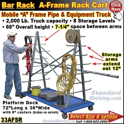 "33AFSR1 / Bar and Pipe ""A""-FRAME Truck"
