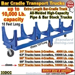 33DCC / Bar & Pipe Cradle Truck