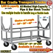 66ERBST / Bar and Pipe Cradle Truck
