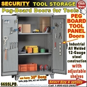 66SSLPB / Heavy-Duty Security Tool Storage Cabinets