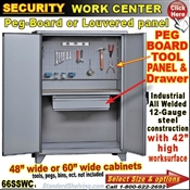 66SSWC / Heavy-Duty Security Tool Storage Cabinets