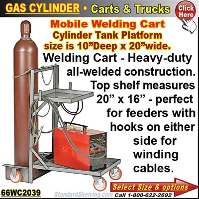 66WC2039 / Gas-Cylinder Welders Truck
