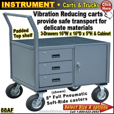 88AF / INSTRUMENT TRUCK WITH DRAWERS