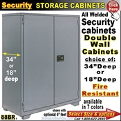 88BR / Fire Resistant Security Storage Cabinets