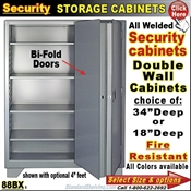 88BX / Fire Resistant Security Storage Cabinets
