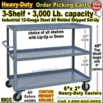88CC / 3-Shelf Steel Stock Transport Truck