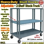 88CZ / Adjustable Shelf Steel Stock Transport Truck