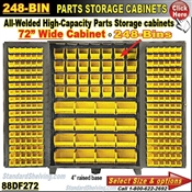 88DF272 / 248-Bin Heavy-Duty Storage Cabinet