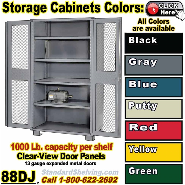 (PRODUCT CODE: 88DJ) .... All Welded Heavy Duty Storage Cabinet ...