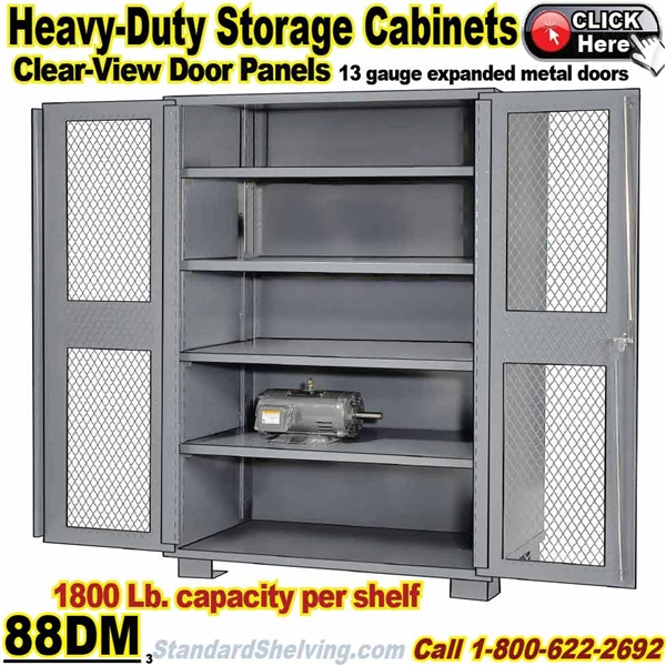 (PRODUCT CODE: 88DM) .... All Welded Heavy Duty Storage Cabinet ...