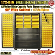 88DN260 / 172-Bin Heavy-Duty Storage Cabinet