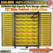 88DP272 / 240-Bin Heavy-Duty Storage Cabinet