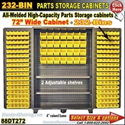 88DT272 / 232-Bin Heavy-Duty Storage Cabinet