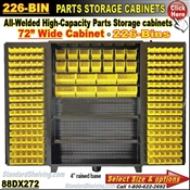 88DX272 / 226-Bin Heavy-Duty Storage Cabinet