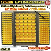 88DZ248 / 173-Bin Heavy-Duty Storage Cabinet