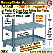 88EY / Heavy Duty 2-Shelf Stake Truck