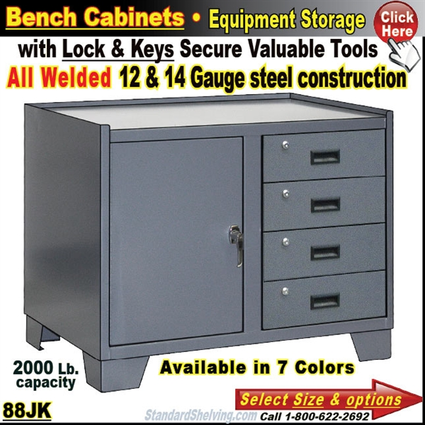 Stupendous Heavy Duty Bench Storage Cabinet With Drawers Gmtry Best Dining Table And Chair Ideas Images Gmtryco