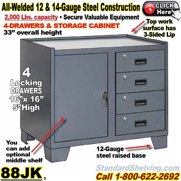 Awesome Heavy Duty Bench Storage Cabinet With Drawers Machost Co Dining Chair Design Ideas Machostcouk