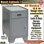88JR / Heavy-Duty Bench Storage Cabinet