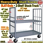 88KB / 2-Shelf SLAT-ENDS Stock Transport Truck