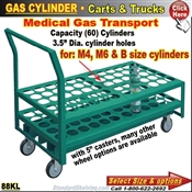 88KL / Medical Gas-Cylinder Cart