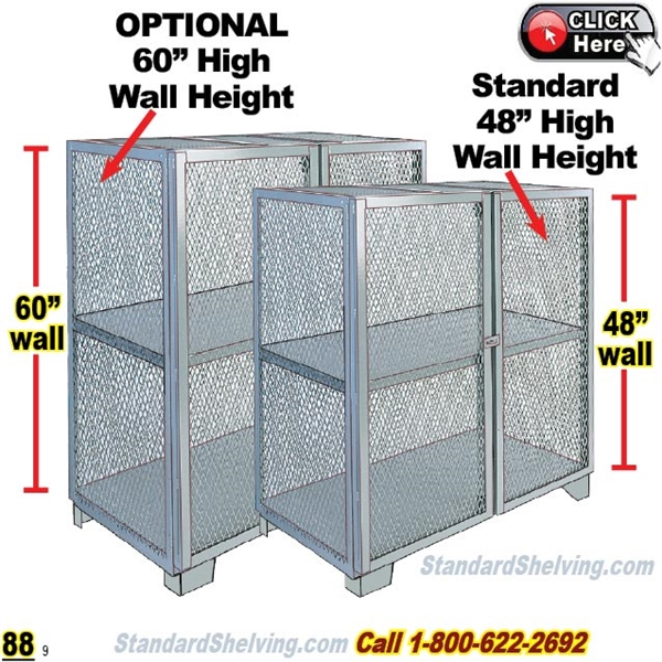 (PRODUCT ...  sc 1 th 225 & Mesh Security Storage Cabinets