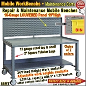 88MT / Bin-Panel Mobile WorkBenches