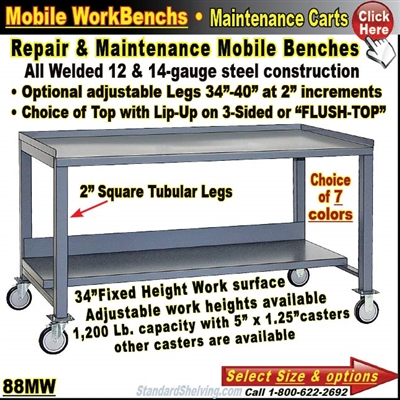 88MW / Mobile WorkBenches
