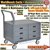 88NJ / 6-Drawer Maintenance Carts