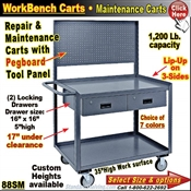 Pegboard Repair & Maintenance Carts