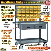 Bin Panel Repair & Maintenance Carts