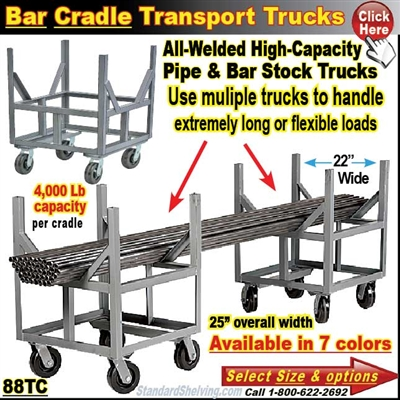 88TC / Bar and Pipe Cradle Truck