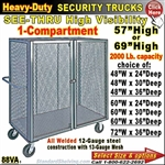 88VA / Heavy-Duty See-Thru BULK Security Trucks