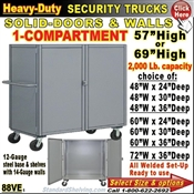 88VE / Heavy-Duty Security Trucks with 1-Compartment