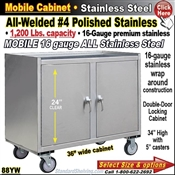 88YW / Stainless Steel Mobile Carts