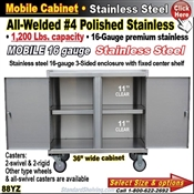 88YZ / Stainless Steel Mobile Carts
