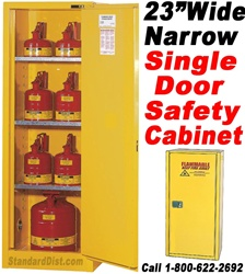 SLIM-LINE FLAMMABLE SAFETY CABINETS (99BA) FLAMMABLE SAFETY CABINETS