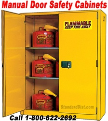 MANUAL DOOR FLAMMABLE SAFETY CABINETS (99BM)