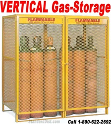 VERTICAL GAS SAFETY CABINETS (99CV) VERTICAL GAS FLAMMABLE SAFETY CABINETS