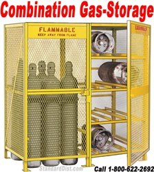 COMBINATION GAS SAFETY CABINETS (99CX) COMBINATION GAS FLAMMABLE SAFETY CABINETS