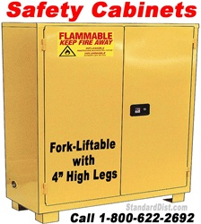 FORK-LIFTABLE FLAMMABLE SAFETY CABINETS (99FM/FS/FF)
