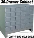 30-DRAWER STEEL CABINET (DM30A) DURHAM