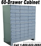 60-DRAWER STEEL CABINET (DM60A) DURHAM