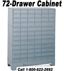 72-DRAWER STEEL CABINET (DM72A) DURHAM
