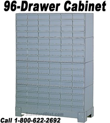 96-DRAWER STEEL CABINET (DM96A) DURHAM
