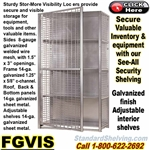 FGVIS / See-Thru Security Shelving Units